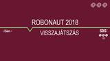 RobonAUT 2018 - visszajátszások