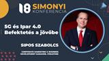 Simonyi Konferencia 2021 - 5G és Ipar 4.0 – Befektetés a jövőbe