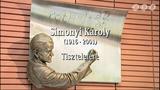 Simonyi Károly Szoboravatás